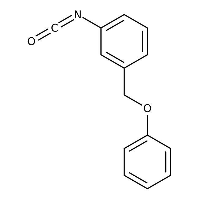 1-Isocyanato-3-(phenoxymethyl)benzene, 97%, Maybridge Amber Glass Bottle; 250mg 1-Isocyanato-3-(phenoxymethyl)benzene, 97%, Maybridge