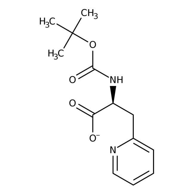 N-(tert-Butoxycarbonyl)-3-(2-pyridyl)-L-alanine 98.0 %, TCI America