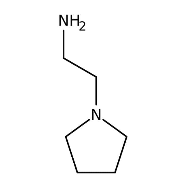 Alfa Aesar™1-(2-Aminoetil)pirrolidina, 99 % 100g Alfa Aesar™1-(2-Aminoetil)pirrolidina, 99 %