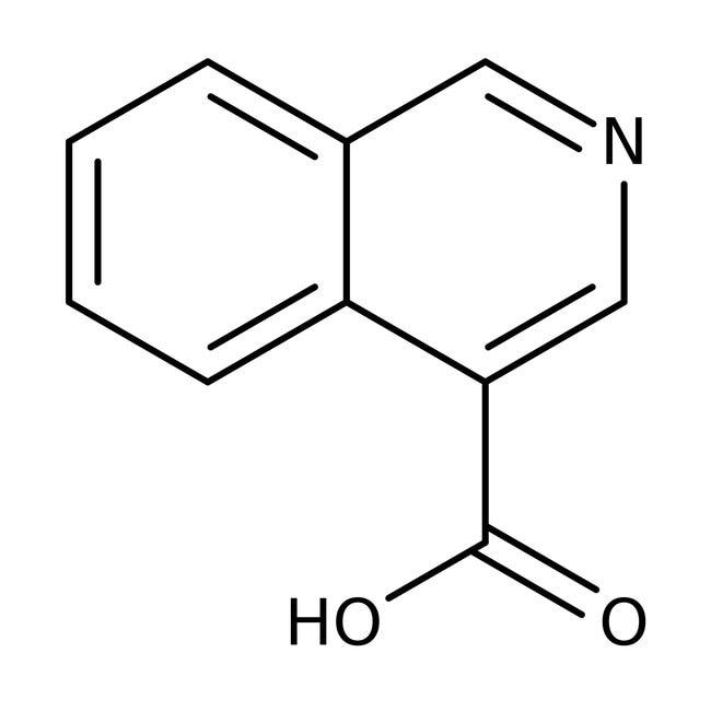 Isoquinoline-4-carboxylic acid, 97%, Maybridge Amber Glass Bottle; 250mg Isoquinoline-4-carboxylic acid, 97%, Maybridge