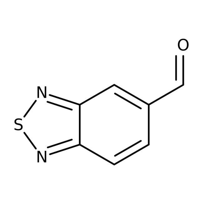 2,1,3-Benzothiadiazole-5-carbaldehyde, 97%, Maybridge
