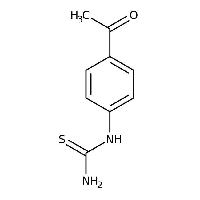 Alfa Aesar™N-(4-acétylphényl)thio-urée, 98% 5g Alfa Aesar™N-(4-acétylphényl)thio-urée, 98%