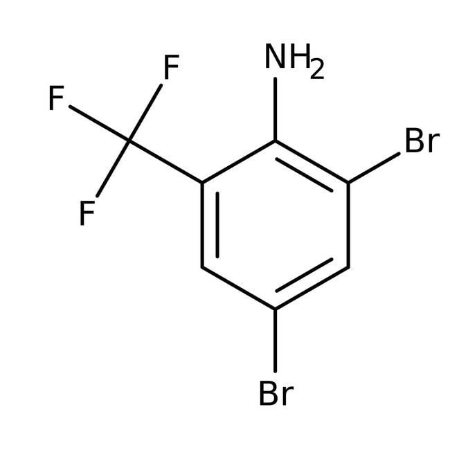 2-Amino-3,5-dibromobenzotrifluoride, 98%, Acros Organics