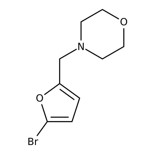 4-[(5-Bromo-2-furyl)methyl]morpholine, 97%, Maybridge™