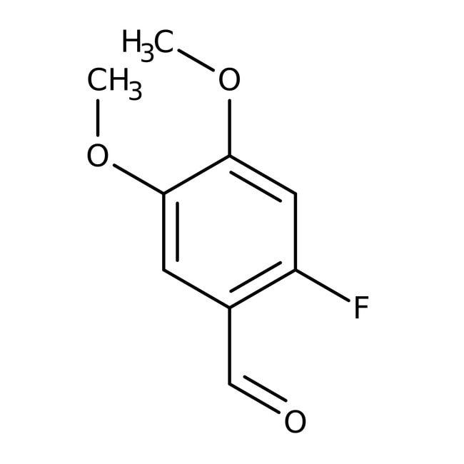 6-Fluoroveratraldehyde, 97%, ACROS Organics™