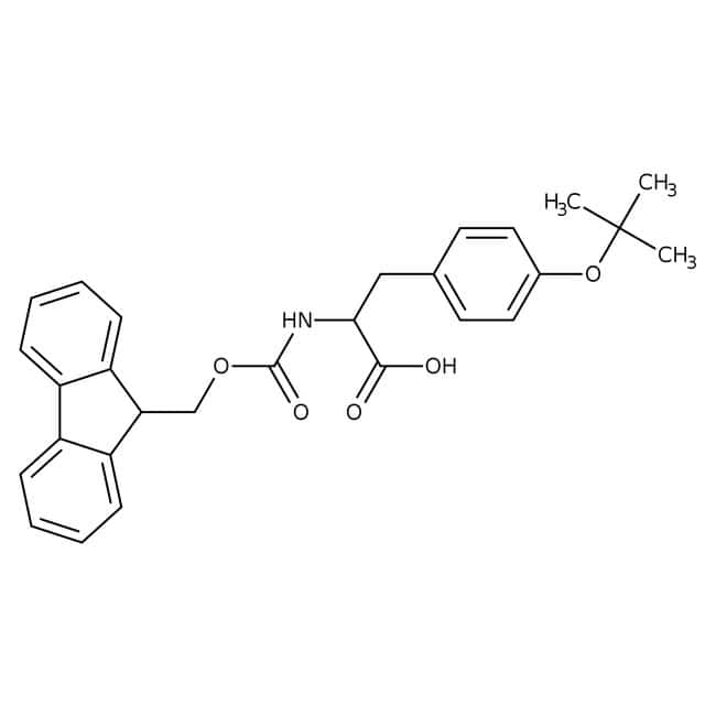 FMOC-O-tert-Butyl-L-tyrosine, 98%, ACROS Organics™ 25g FMOC-O-tert-Butyl-L-tyrosine, 98%, ACROS Organics™