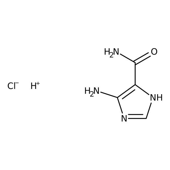 4-Amino-5-imidazolecarboxamide hydrochloride, 98%, ACROS Organics™