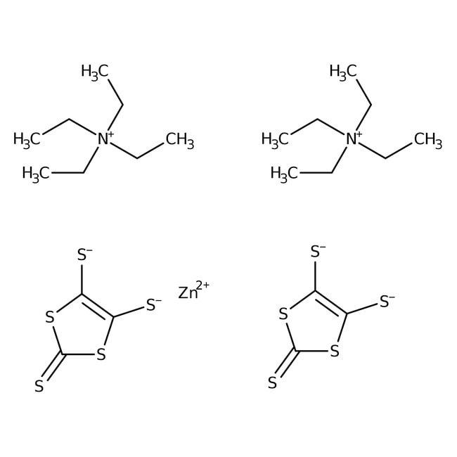 Alfa Aesar™Bis(tetraethylammonium) bis(2-thioxo-1,3-dithiole-4,5-dithiolato)zincate, 97%