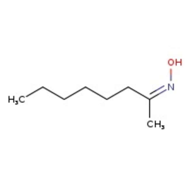2-Octanone oxime, 99%, Acros Organics 25g; Glass bottle 2-Octanone oxime, 99%, Acros Organics
