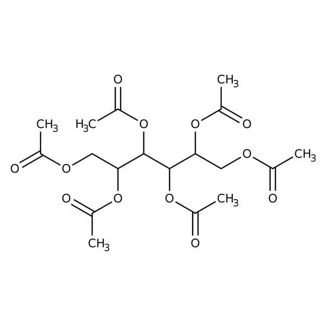 Alfa Aesar™D-Sorbitol hexaacetate, 97% 100g Alfa Aesar™D-Sorbitol hexaacetate, 97%