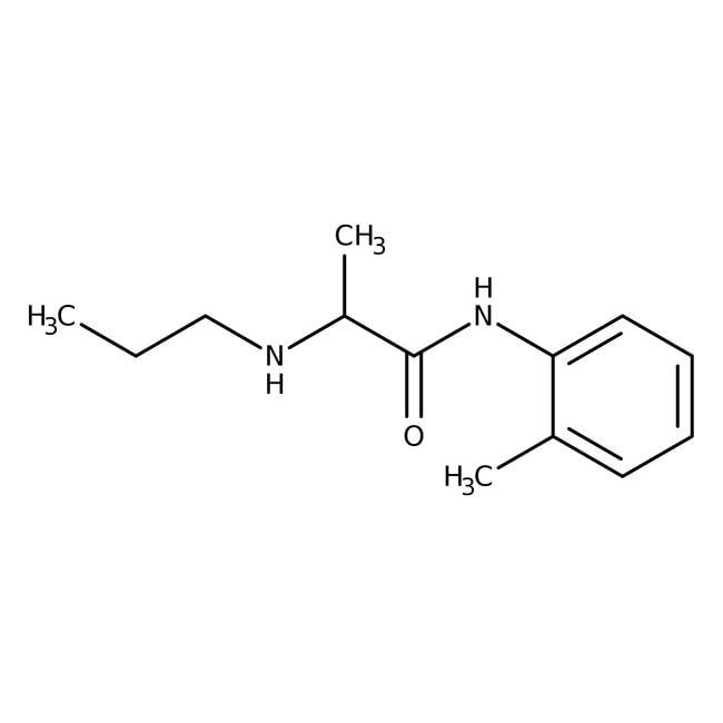 Prilocain, 98%, ACROS Organics™  Prilocain, 98%, ACROS Organics™