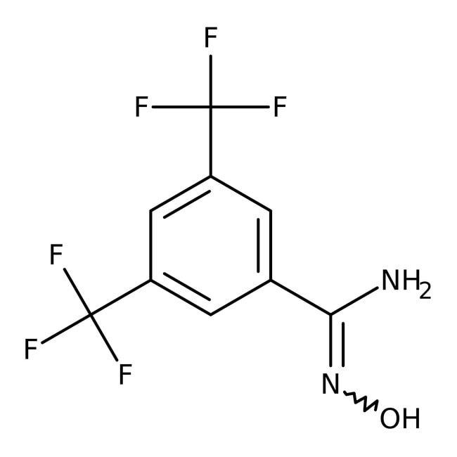 Alfa Aesar™3,5-Bis(trifluoromethyl)benzamidoxime, 97% 1g Alfa Aesar™3,5-Bis(trifluoromethyl)benzamidoxime, 97%