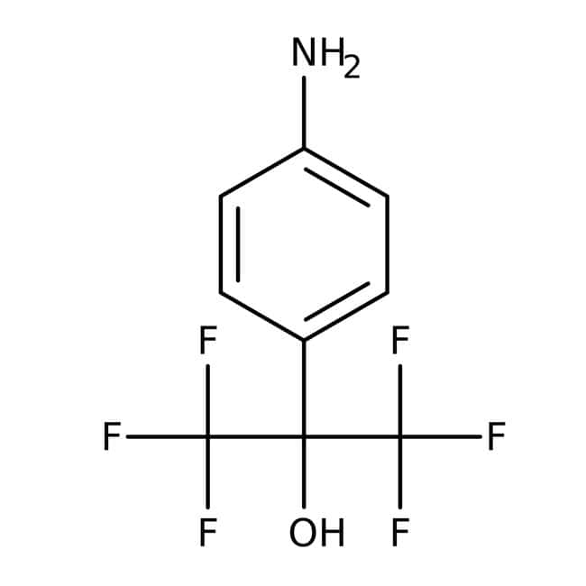 2-(4-Aminophenyl)-1,1,1,3,3,3-hexafluoro-2-propanol, 97%, ACROS Organics