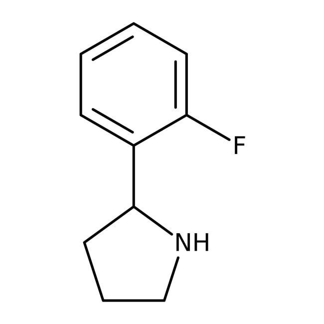 Alfa Aesar™2-(2-Fluorophenyl)pyrrolidine, 95% 1g Alfa Aesar™2-(2-Fluorophenyl)pyrrolidine, 95%
