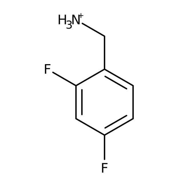 2,4-Difluorobenzylamine, 98%, ACROS Organics™ 5g; Glass bottle 2,4-Difluorobenzylamine, 98%, ACROS Organics™