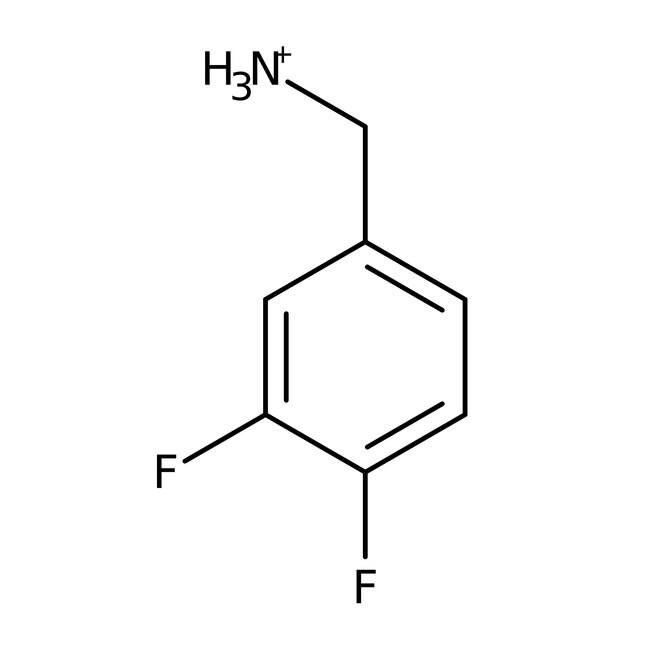 3,4-Difluorobenzylamine, 95%, ACROS Organics™ 1g; Glass bottle 3,4-Difluorobenzylamine, 95%, ACROS Organics™