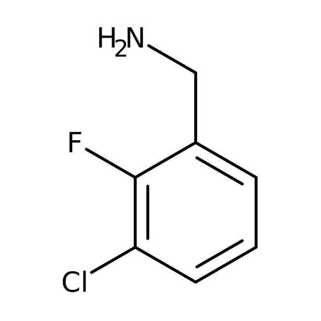 Alfa Aesar™3-Chloro-2-fluorobenzylamine, 97% 250mg Alfa Aesar™3-Chloro-2-fluorobenzylamine, 97%