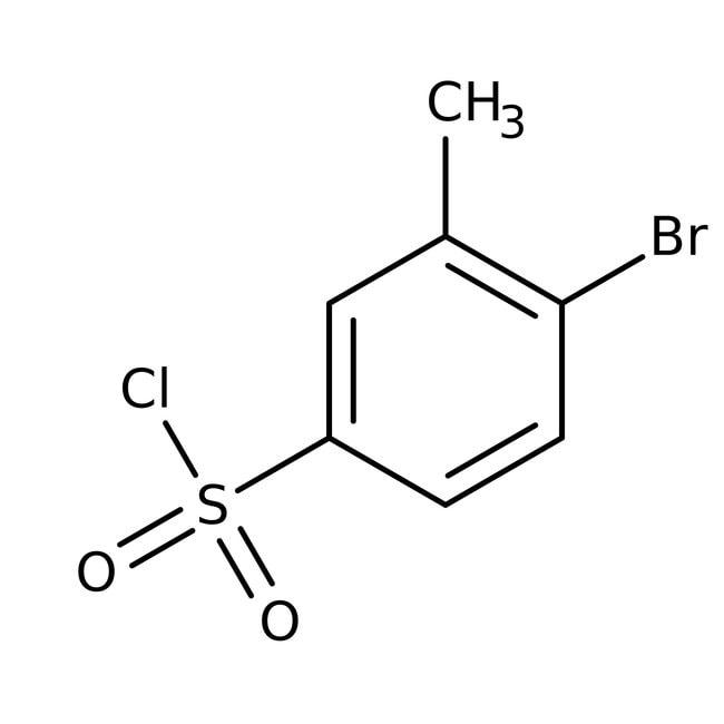4-Bromo-3-methylbenzenesulfonyl chloride, 97%, ACROS Organics™