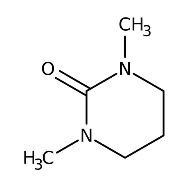 1,3-Dimethyl-3,4,5,6-tetrahydro-2(1H)-pyrimidinone, 97%, pure, ACROS Organics™ 100mL; Glass bottle 1,3-Dimethyl-3,4,5,6-tetrahydro-2(1H)-pyrimidinone, 97%, pure, ACROS Organics™