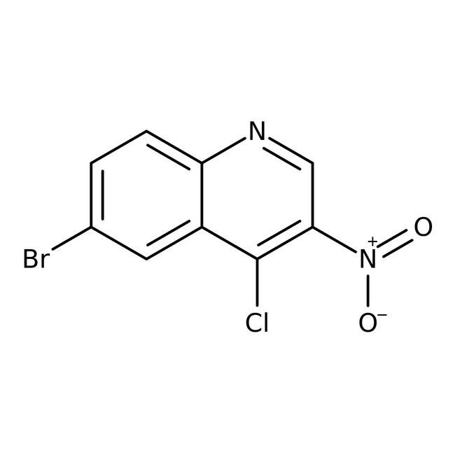 Alfa Aesar™6-Bromo-4-chloro-3-nitroquinoline, 96%