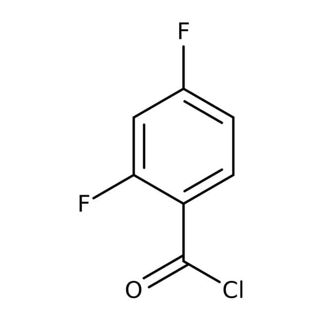 Alfa Aesar™2,4-Difluorobenzoyl chloride, 98% 25g Alfa Aesar™2,4-Difluorobenzoyl chloride, 98%