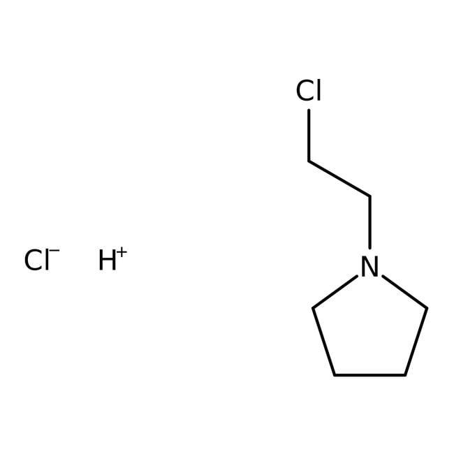 Alfa Aesar™1-(2-Chloroethyl)pyrrolidine hydrochloride, 98% 25g Alfa Aesar™1-(2-Chloroethyl)pyrrolidine hydrochloride, 98%