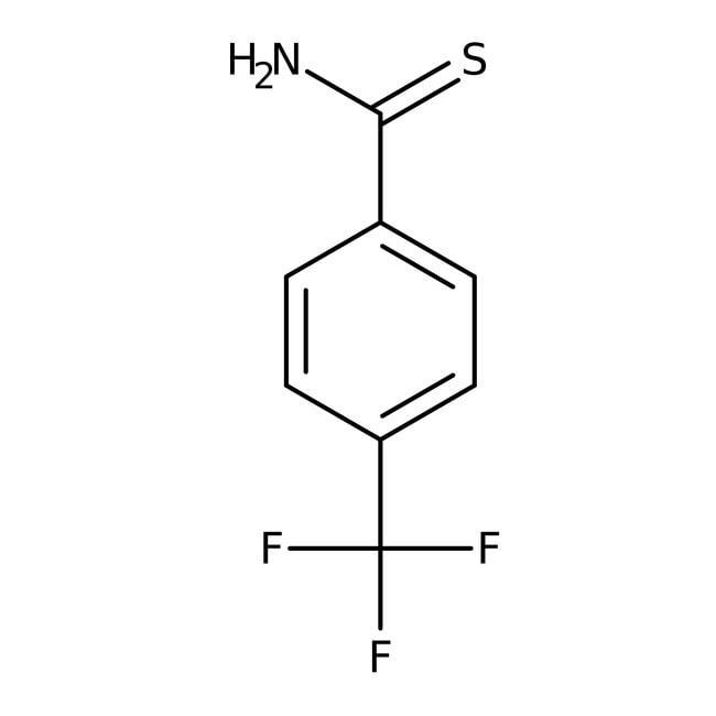 4-(Trifluoromethyl)thiobenzamide, 97%, Alfa Aesar™ 25g 4-(Trifluoromethyl)thiobenzamide, 97%, Alfa Aesar™