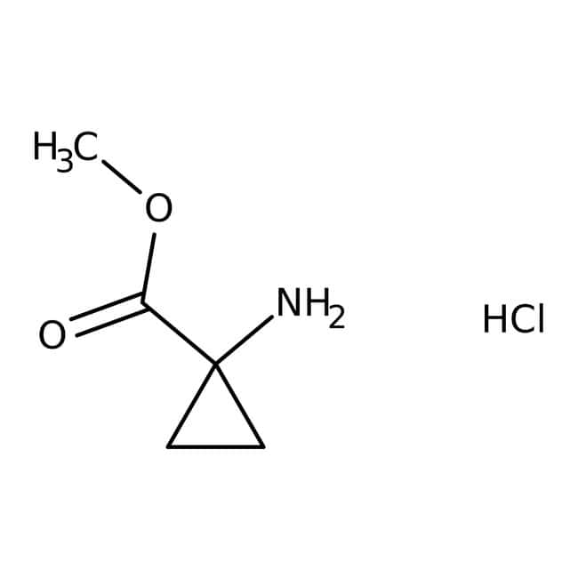 Methyl 1-aminocyclopropanecarboxylate hydrochloride, 98%, ACROS Organics™