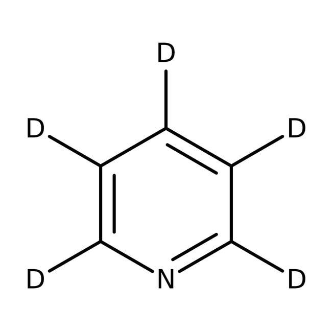 Pyridine-d5, for NMR, 100.0% atom D, ACROS Organics