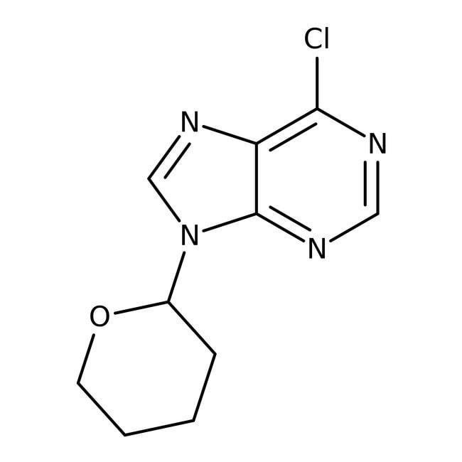 Alfa Aesar™6-Chloro-9-(2-tetrahydropyranyl)purine, 99% 10g Alfa Aesar™6-Chloro-9-(2-tetrahydropyranyl)purine, 99%