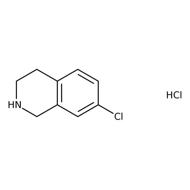Alfa Aesar™7-Chloro-1,2,3,4-tetrahydroisoquinoline hydrochloride, 98% 1g Alfa Aesar™7-Chloro-1,2,3,4-tetrahydroisoquinoline hydrochloride, 98%