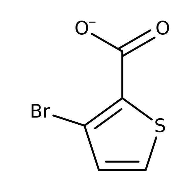 Alfa Aesar™3-Bromothiophene-2-carboxylic acid, 97%
