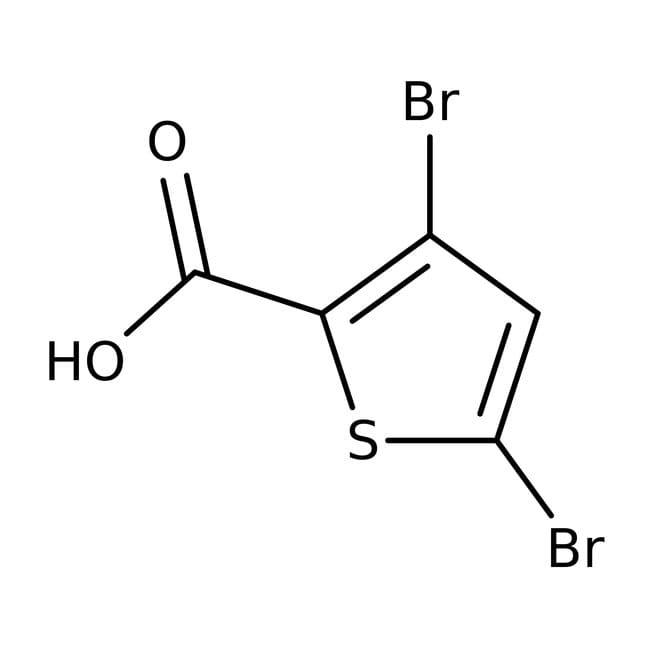 3,5-Dibromothiophene-2-carboxylic acid, 97%, ACROS Organics™