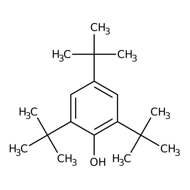 2,4,6-Tri-tert-butylphenol, 97%, ACROS Organics™ 5 g-Glasflasche 2,4,6-Tri-tert-butylphenol, 97%, ACROS Organics™