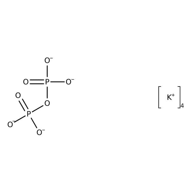 Alfa Aesar™Potassium pyrophosphate, anhydrous, 96% min