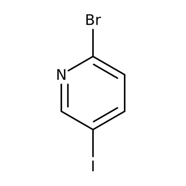 2-Bromo-5-iodopyridine, 97%, ACROS Organics