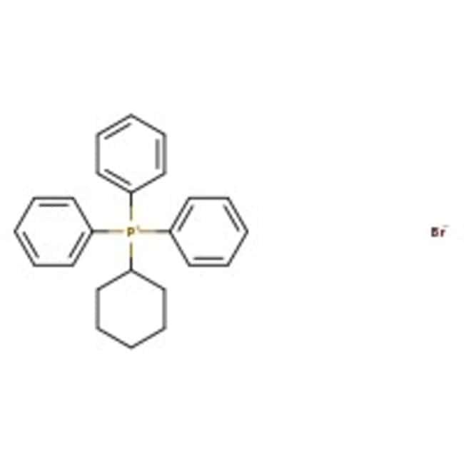 Alfa Aesar™Bromuro de ciclohexiltrifenilfosfonio, +98% 100g Alfa Aesar™Bromuro de ciclohexiltrifenilfosfonio, +98%