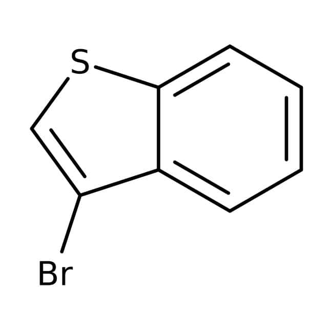 3-Bromobenzo[b]thiophene, 95%, Alfa Aesar™ 50g 3-Bromobenzo[b]thiophene, 95%, Alfa Aesar™