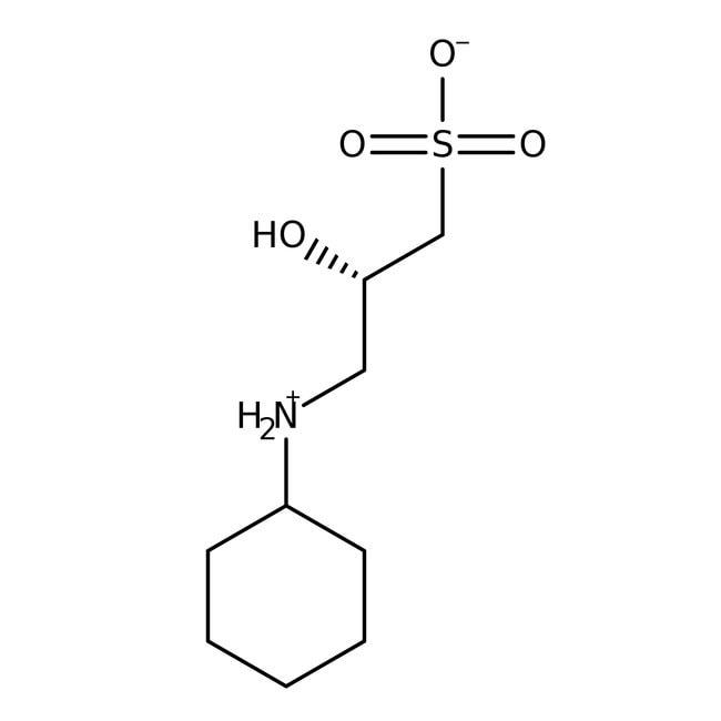 CAPSO, 99%, ACROS Organics™ 1kg; Glass bottle CAPSO, 99%, ACROS Organics™