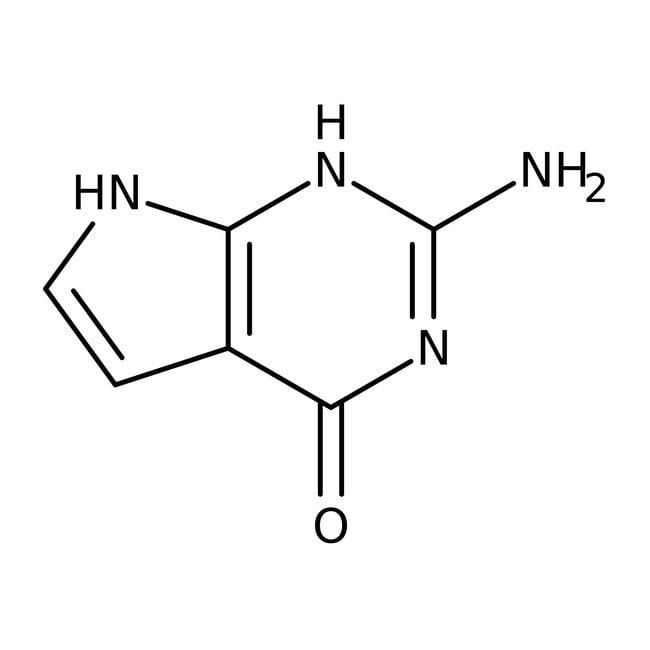 7-Deazaguanine, 90+%, ACROS Organics™ 5g, Glass bottle 7-Deazaguanine, 90+%, ACROS Organics™