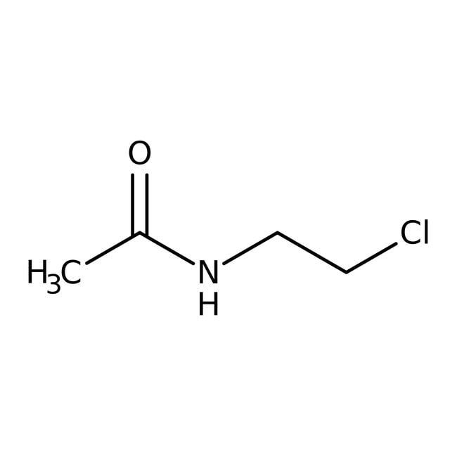 N-(2-Chloroethyl)acetamide, 98%, ACROS Organics™ 50g; Glass bottle N-(2-Chloroethyl)acetamide, 98%, ACROS Organics™