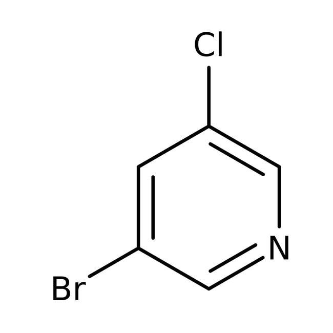 3-Bromo-5-chloropyridine, 97%, ACROS Organics™