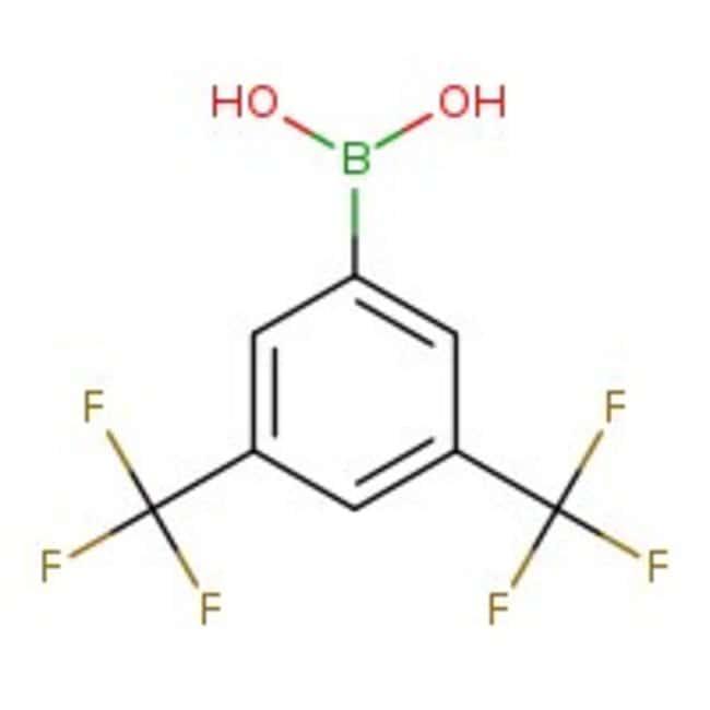 3,5-Bis(trifluoromethyl)benzeneboronic acid, 95%, ACROS Organics™