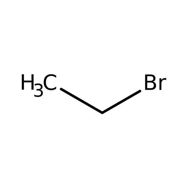 Bromoethane, 98%, ACROS Organics™ 1L; Glass bottle Bromoethane, 98%, ACROS Organics™