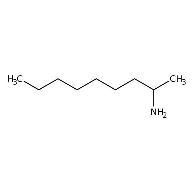 Alfa Aesar™(R)-(-)-2-Aminononane, ChiPros 99 +%, ee98 +% 1g Alfa Aesar™(R)-(-)-2-Aminononane, ChiPros 99 +%, ee98 +%