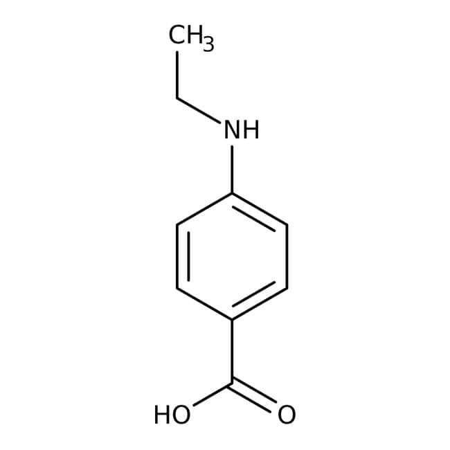 4-(Ethylamino)benzoic acid, 97%, Maybridge™ 10g Products