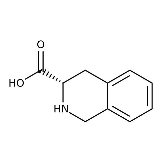 Alfa Aesar™(S)-(-)-1,2,3,4-Tetrahydroisochinolin-3-carboxylsäure, 97% 1g Alfa Aesar™(S)-(-)-1,2,3,4-Tetrahydroisochinolin-3-carboxylsäure, 97%