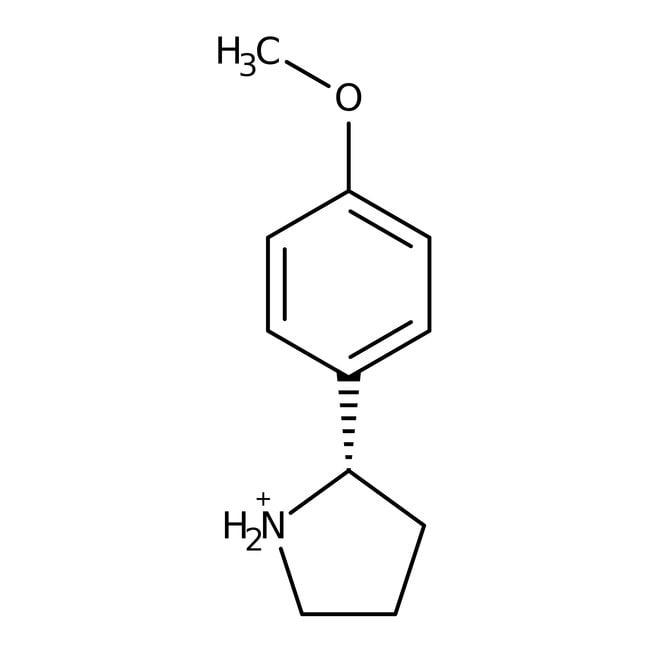 2-(4-Methoxyphenyl)pyrrolidine 98.0+%, TCI America™