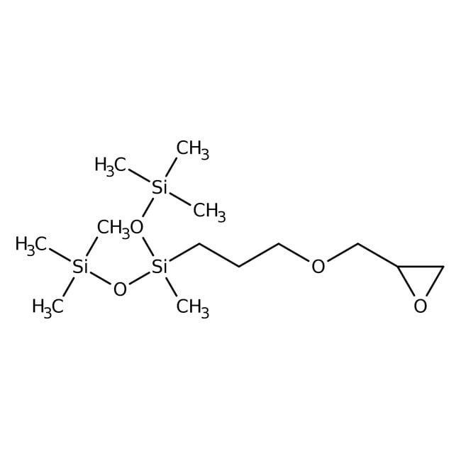 1,1,1,3,5,5,5-Heptamethyl-3-(3-glycidyloxypropyl)trisiloxane 96.0+%, TCI America™