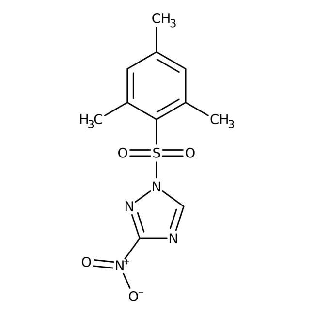 Alfa Aesar™1-(2-Mesitylenesulfonyl)-3-nitro-1H-1,2,4-triazole, 99+%